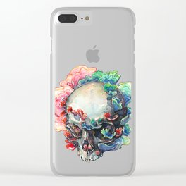 Trametes Versicolor Clear iPhone Case