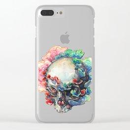 Trametes Versicolor Clear iPhone Case