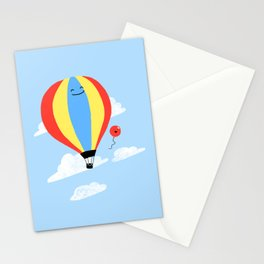 Balloon Buddies Stationery Cards