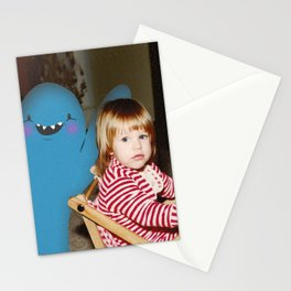 Friendly monsters 1 Stationery Cards