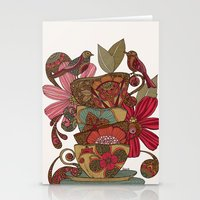 good morning Stationery Cards featuring Good Morning by Valentina Harper