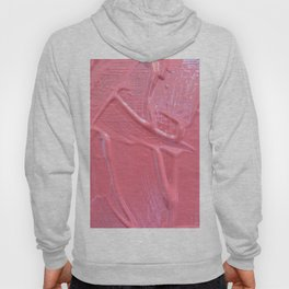 Pink Paint Texture Painting Hoody