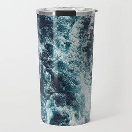 DARK BLUE OCEAN Travel Mug