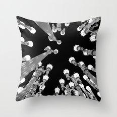 LACMA II Throw Pillow