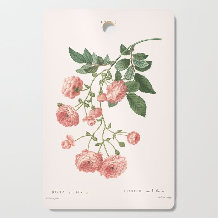 Rosa Multiflora Cutting Board