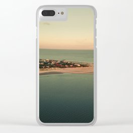Where River Meets Sea Clear iPhone Case