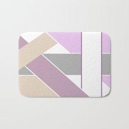 Abstract pattern . Geometric shapes .2 Bath Mat