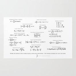 High-Math Inspiration 01 - Black Rug
