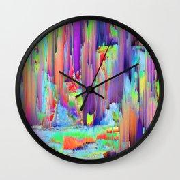Pixel Sorting 43 Wall Clock