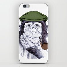Wise Mr. Chimp iPhone & iPod Skin