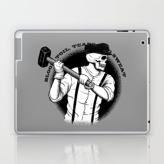 Blood, Toil, Tears, and Sweat Laptop & iPad Skin