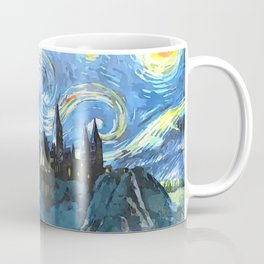 Starry Night in H magic castle Coffee Mug