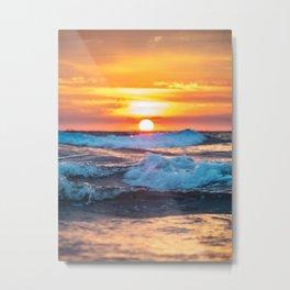 Kuta beach in Bali Metal Print