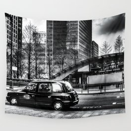 Canary Wharf  London Wall Tapestry