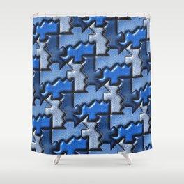 Geometrix 120 Shower Curtain