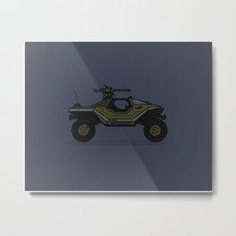 Halo Warthog Metal Print