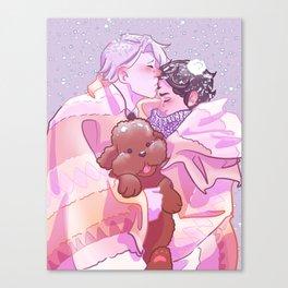 Viktuuri winter hug Canvas Print