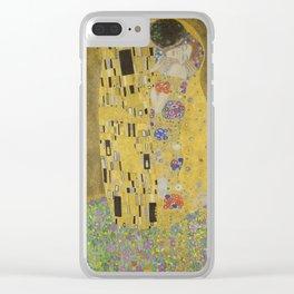 The Kiss - Gustav Klimt Clear iPhone Case