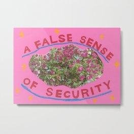 false Metal Print