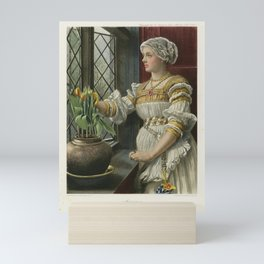 The Graphic Gallery of Shakespeare's Heroines (1896) - Mariana, from Measure for Measure Mini Art Print