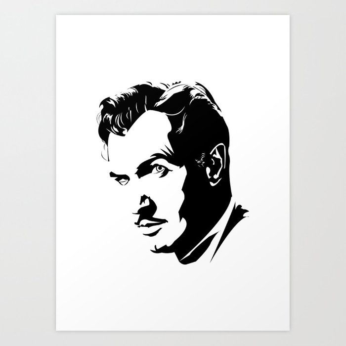 vincent price art print by andrewformosa society6