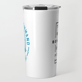 Intergalactic Space Command Logo 1 Travel Mug