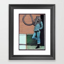 THE LOITERER Framed Art Print