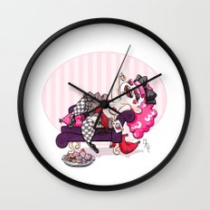 Queen of Hearts Wall Clock
