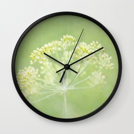Turn over a new leaf Wall Clock