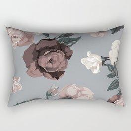 Floral, Romantic, Roses, Flowers, Rectangular Pillow