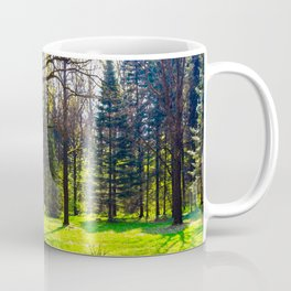 Early Spring In The Forest Coffee Mug