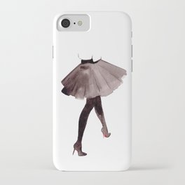 High heels - watercolor illustration iPhone Case