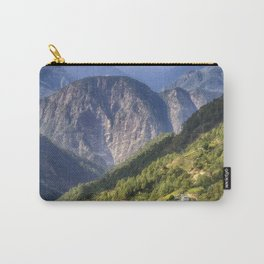 High in the Mountains - Himalayas of Bhutan Carry-All Pouch