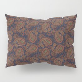 Meredith Paisley - Indigo Blue Pillow Sham