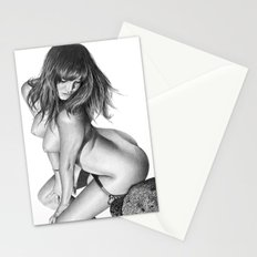 Nude girl 1 Stationery Cards