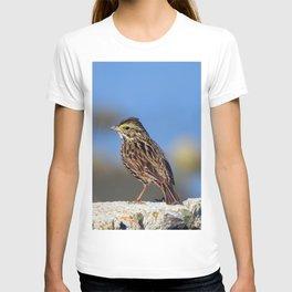 Male Savannah Sparrow T-shirt