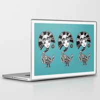 birdy Laptop & iPad Skins featuring Birdy by Ejaculesc