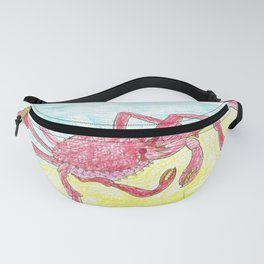 Giant Japanese Spider Crab Fanny Pack