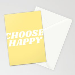 choose happy Stationery Cards