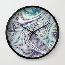 Abstract Shards Fractal Wall Clock
