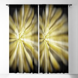 Blurry Popcorn Blackout Curtain