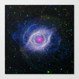 The Helix Nebula: Unraveling at the Seams Canvas Print