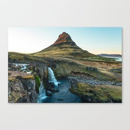 Kirkjufellsfoss, Iceland Canvas Print