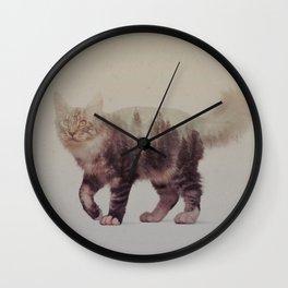 Cats: Maine Coon III Wall Clock