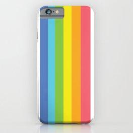 Happier Moment Stripes iPhone Case