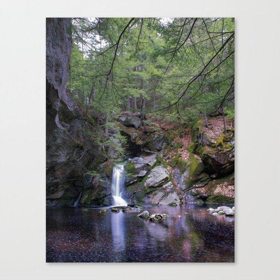 Purgatory Falls NH in May Canvas Print
