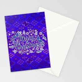 -A31- Merry Christmas Traditional Style. Stationery Cards