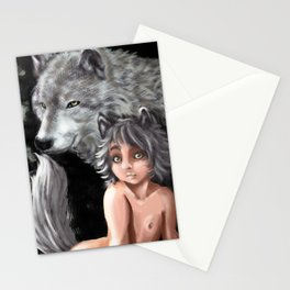 Wolf Cub Stationery Cards
