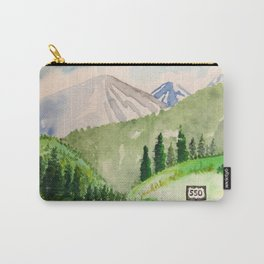 Million Dollar Highway - Ouray to Silverton CO Carry-All Pouch
