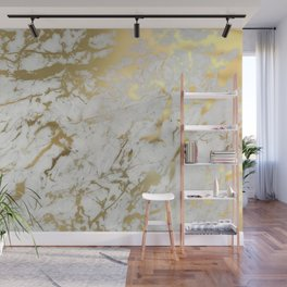 Gold marble Wall Mural